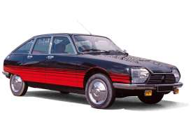 Citroen  - GS *Basalte* 1978 black/red - 1:18 - Norev - 181626 - nor181626 | Tom's Modelauto's