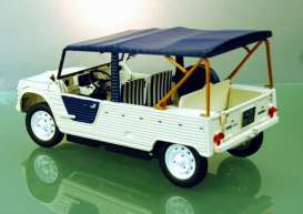 Citroen  - Mehari Azur 1983 white/blue - 1:18 - Norev - 181516 - nor181516 | Tom's Modelauto's