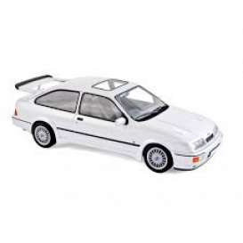 Ford  - Sierra RS Cosworth 1986 white metallic - 1:18 - Norev - 182771 - nor182771 | Toms Modelautos