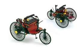 Mercedes Benz  - 1886 black - 1:18 - Norev - 183701 - nor183701 | Tom's Modelauto's