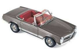 Mercedes Benz  - 230 SL 1963 antracite - 1:18 - Norev - 183498 - nor183498 | Tom's Modelauto's