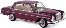 Mercedes Benz  - 230 SL 1968 dark red - 1:18 - Norev - 183431 - nor183431 | Tom's Modelauto's