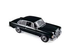 Mercedes Benz  - 230 SL 1969 black - 1:18 - Norev - 183432 - nor183432 | Toms Modelautos