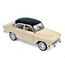Simca  - Aronde 1961 ivory/black - 1:18 - Norev - 185716 - nor185716 | Tom's Modelauto's
