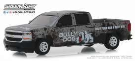 Chevrolet  - Silverado 2018 grey - 1:64 - GreenLight - 30084 - gl30084 | Tom's Modelauto's
