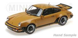 Porsche  - 911 Turbo 1977 tan - 1:12 - Minichamps - 125066113 - mc125066113 | Toms Modelautos