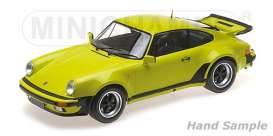 Porsche  - 911 Turbo 1977 light green - 1:12 - Minichamps - 125066119 - mc125066119 | Tom's Modelauto's