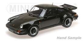 Porsche  - 911 Turbo 1977 olive - 1:12 - Minichamps - 125066122 - mc125066122 | Tom's Modelauto's