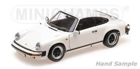 Porsche  - 911 Carrera 1983 white - 1:18 - Minichamps - 100063024 - mc100063024 | Toms Modelautos