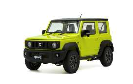 Suzuki  - Jimny JB64 2018 yellow/black - 1:18 - BM Creations - 18B0008 - BM18B0008 | Toms Modelautos