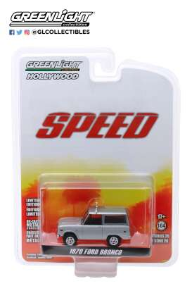 Ford  - Bronco 1970 white/silver - 1:64 - GreenLight - 44860E - gl44860E | Tom's Modelauto's