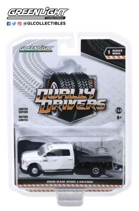 Ram  - 3500 2019 white - 1:64 - GreenLight - 46010F - gl46010F | Tom's Modelauto's