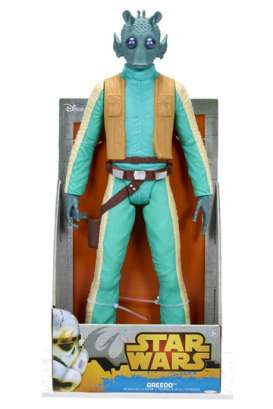 Star Wars  - Chewbacca 2018 green/creme/orange - Jakks Pacific - 83587 - Jakks83587 | Tom's Modelauto's