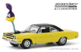 Plymouth  - Road Runner 1970 yellow/black - 1:64 - GreenLight - 30088 - gl30088 | Toms Modelautos