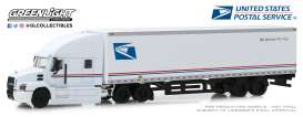 Mack  - Anthem 2019 white/blue - 1:64 - GreenLight - 30090 - gl30090 | Tom's Modelauto's