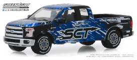Ford  - F-150 2017 black/blue/white - 1:64 - GreenLight - 30091 - gl30091 | Tom's Modelauto's