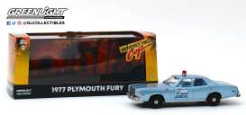 Plymouth  - Fury 1977 blue - 1:43 - GreenLight - 86565 - gl86565 | Tom's Modelauto's