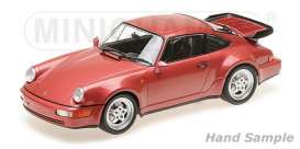 Porsche  - 1990 red metallic - 1:18 - Minichamps - 155069102 - mc155069102 | Tom's Modelauto's