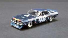 Plymouth  - Trans Am Barracuda #48 1970 blue - 1:64 - Acme Diecast - 51263 - acme51263 | Tom's Modelauto's
