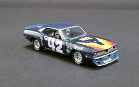 Plymouth  - Trans Am Barracuda #42 1970 blue - 1:64 - Acme Diecast - 51264 - acme51264 | Toms Modelautos