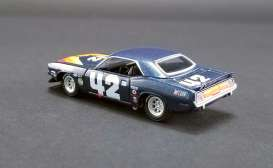 Plymouth  - Trans Am Barracuda #42 1970 blue - 1:64 - Acme Diecast - 51264 - acme51264 | Tom's Modelauto's
