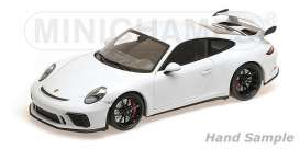 Porsche  - 911 GT3 2017 white - 1:18 - Minichamps - 110067032 - mc110067032 | Tom's Modelauto's