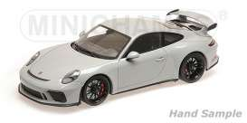 Porsche  - 911 GT3 2017 chalk - 1:18 - Minichamps - 110067036 - mc110067036 | Toms Modelautos
