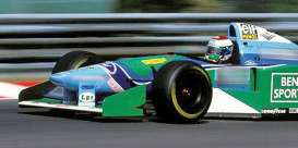 Benetton  - Ford B194 1990 blue/green/white - 1:18 - Minichamps - 110941006 - mc110941006 | Toms Modelautos
