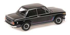 BMW  - 2002 Turbo 1973 black - 1:18 - Minichamps - 155026204 - mc155026204 | Toms Modelautos