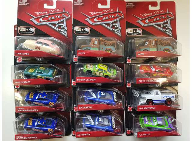 mattel cars infants | mattel cars | matdxv29 | tom's modelauto's