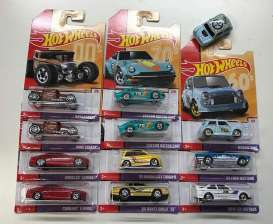 Assortment/ Mix  - 2019 various - 1:64 - Hotwheels - GBB85-999A - hwmvGBB85-999A | Tom's Modelauto's