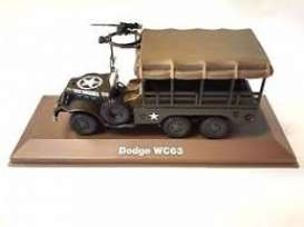 Military Vehicles  - Dodge WC63 green/sand - 1:43 - Magazine Models - MILBL16 - magMILBL16 | Toms Modelautos