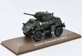 Military Vehicles  - Humber Armoured Car Mk IV green - 1:43 - Magazine Models - MILBL14 - magMILBL14 | Tom's Modelauto's