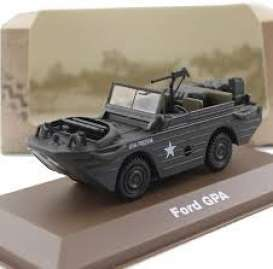 Military Vehicles  - Ford GPA green - 1:43 - Magazine Models - MILBL12 - magMILBL12 | Tom's Modelauto's