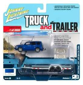 Chevrolet  - HHR 2006 blue - 1:64 - Johnny Lightning - SP035A - JLSP035A | Tom's Modelauto's