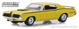 Mercury  - Cougar 1970 yellow - 1:64 - GreenLight - 37180A - gl37180A | Tom's Modelauto's