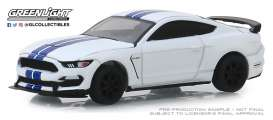 Ford  - Shelby GT350R 2015 white - 1:64 - GreenLight - 37180F - gl37180F | Tom's Modelauto's