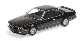 BMW  - 635 CSI 1982 black - 1:18 - Minichamps - 155028104 - mc155028104 | Toms Modelautos