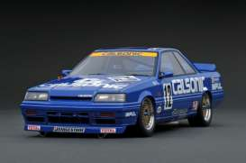 Nissan  - Skyline 1988 blue - 1:18 - Ignition - IG1299 - IG1299 | Toms Modelautos