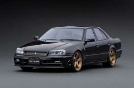 Nissan  - Skyline 25GT Turbo black - 1:18 - Ignition - IG1579 - IG1579 | Toms Modelautos