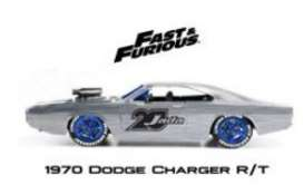 Dodge  - Charger 1970 chrome/blue - 1:24 - Jada Toys - 45017 - jada45017 | Tom's Modelauto's