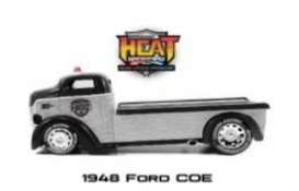 Ford  - COE 1948 chrome/black - 1:24 - Jada Toys - 45018 - jada45018 | Tom's Modelauto's