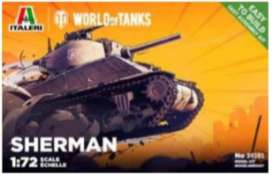 Military Vehicles  - Sherman  - 1:72 - Italeri - 34101 - ita34101 | Tom's Modelauto's