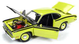 Plymouth  - Duster 1971 yellow - 1:18 - Auto World - 1154 - AMM1154 | Tom's Modelauto's