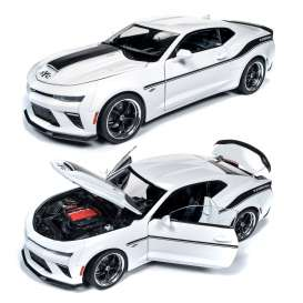 Chevrolet  - Camaro Yenko S/C 2018 white - 1:18 - Auto World - 253 - AW253 | Tom's Modelauto's