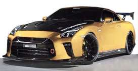 Nissan  - GT-R gold - 1:18 - Ignition - IG1534 - IG1534 | Tom's Modelauto's