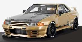 Nissan  - GT-R gold - 1:18 - Ignition - IG1523 - IG1523 | Tom's Modelauto's