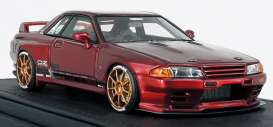 Nissan  - GT-R red - 1:18 - Ignition - IG1524 - IG1524 | Toms Modelautos
