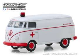 Volkswagen  - Panel 1964 white/red - 1:64 - GreenLight - 29960A - gl29960A | Tom's Modelauto's
