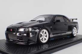 Nissan  - GT-R black - 1:18 - Ignition - IG1473 - IG1473 | Tom's Modelauto's
